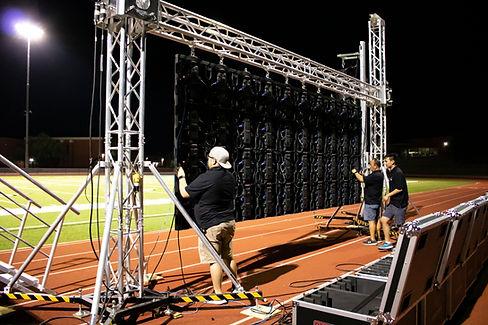 Large Scale Movie Night Rentals LED Video Wall Phoenix, Scottsdale, Arizona