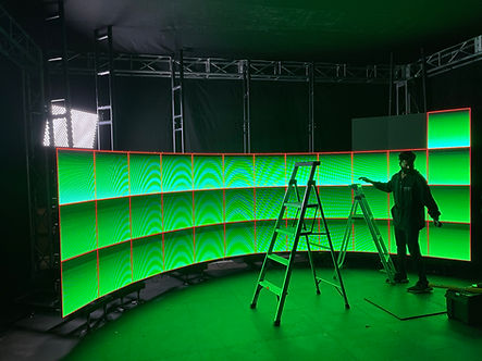 Phoenix LED Video Wall Corporate Rental Curved Video Wall Panels