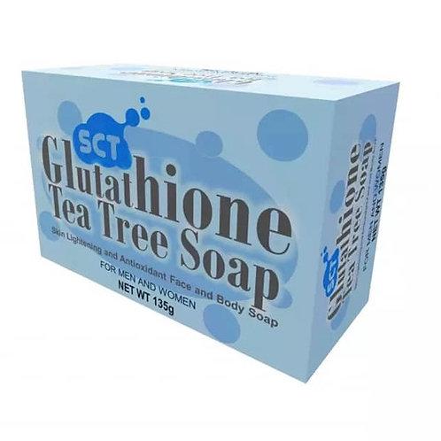 SCT Glutathione Tea Tree Whitening Soap  (Organic) 135g