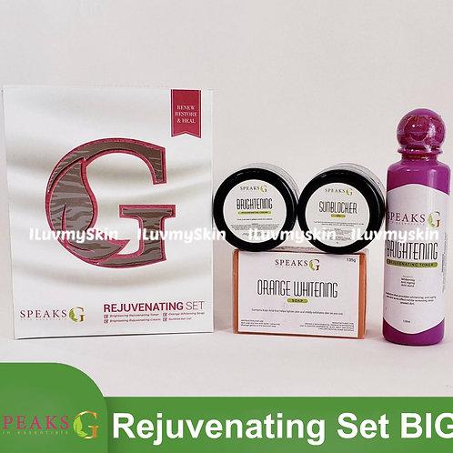 Speaks G Brightening Rejuvenating Set (Jumbo)