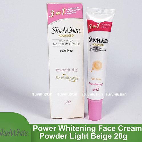 SkinWhite Advanced Power Whitening Face Cream Powder Light Beige 20g