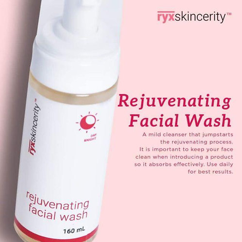 RyxSkincerity Rejuvenating Facial Wash 160ml
