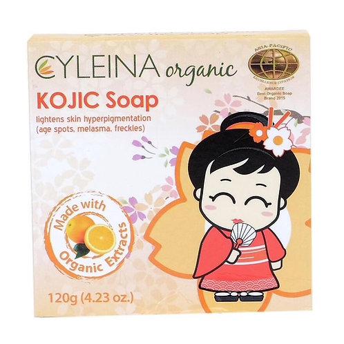 Cyleina Organic Kojic Soap 120g