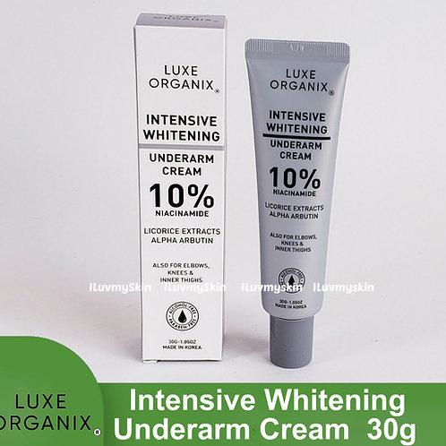 Luxe Organix Intensive Whitening Underarm Cream 10% Niacinamide 30g