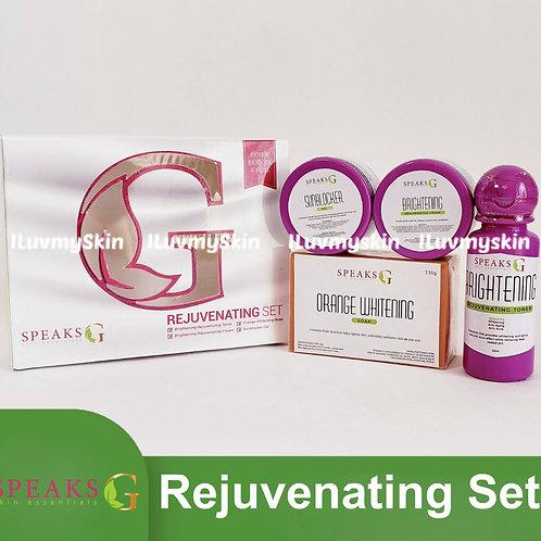 Speaks G Brightening Rejuvenating Set