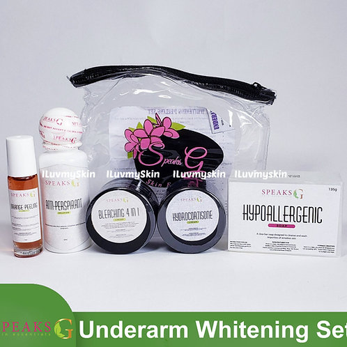 Speaks G Underarm Whitening Peeling Set