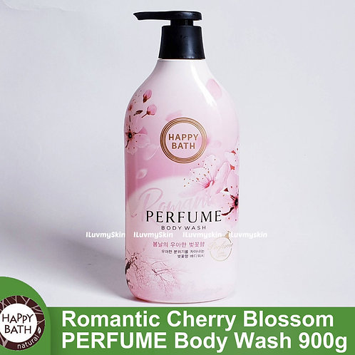 Happy Bath - Romantic Cherry Blossom PERFUME Body Wash 900g