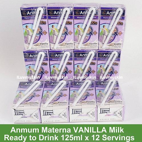 Anmum Materna VANILLA Milk Ready to Drink 125ml x 12 Servings