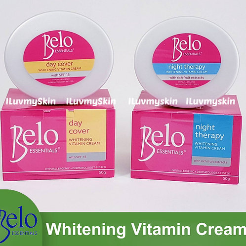 Belo Essentials Day Cover Whitening Cream  & Night Therapy Whitening Cream
