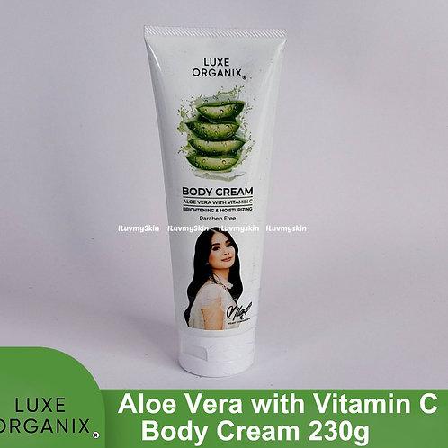 Luxe Organix Aloe Vera with Vitamin C Body Cream 230g