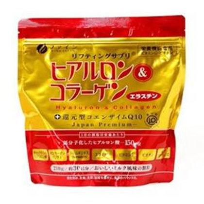 FINE GOLD Hyaluron and Collagen Powder (Refill) 210g