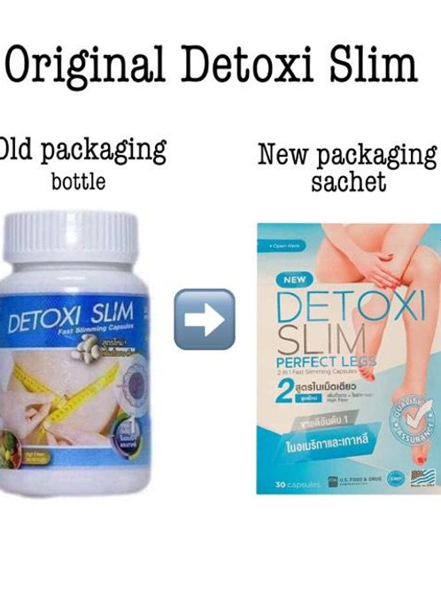 Detoxi Slim (30 capsules) Made in Thailand