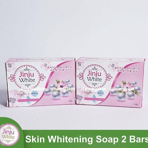 JINJU White Soap (2 bars)