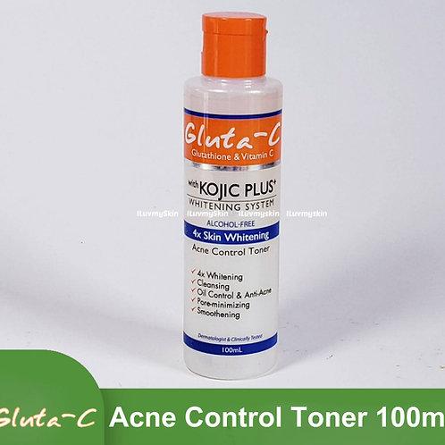 Gluta-C Kojic Plus+ Whitening System Acne Control Toner 100ml