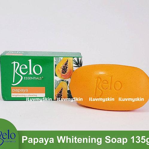 Belo Essentials Papaya Whitening Soap 135g