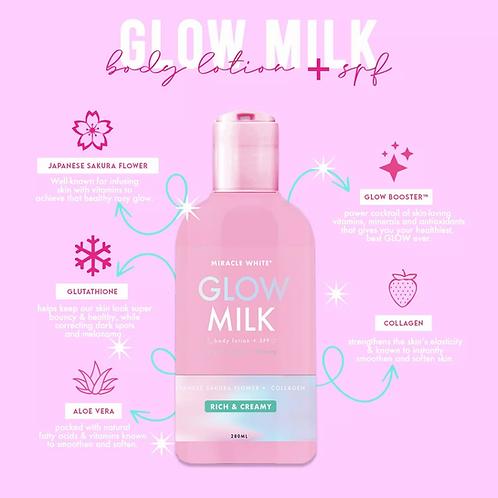 Miracle White Glow Milk Body Lotion 200ml