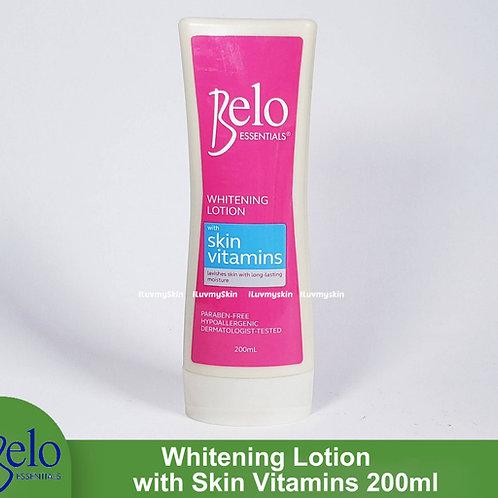 Belo Essentials Whitening Lotion With Skin Vitamins 200ml
