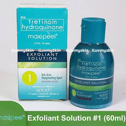 Maxi-Peel Exfoliant Solution #1 (60ml)