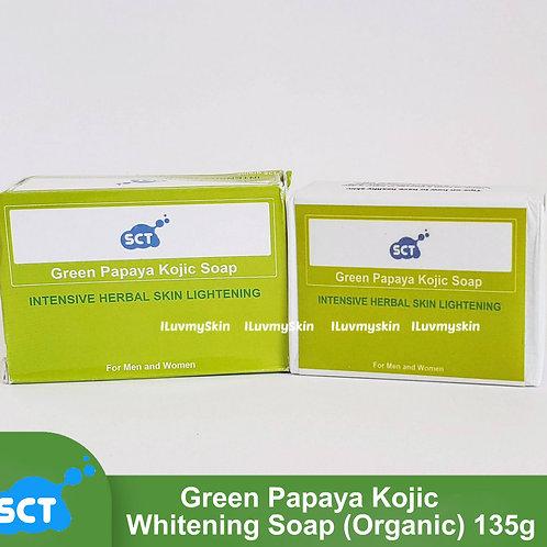 SCT Green Papaya Kojic Whitening Soap (Organic) 135g