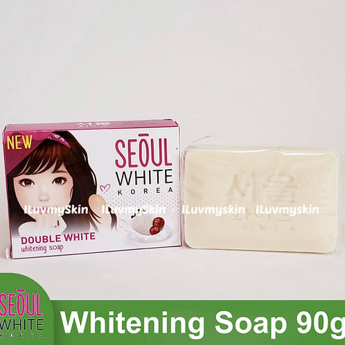 Seoul White Korea Double White Whitening Soap (Single Pack) 90g