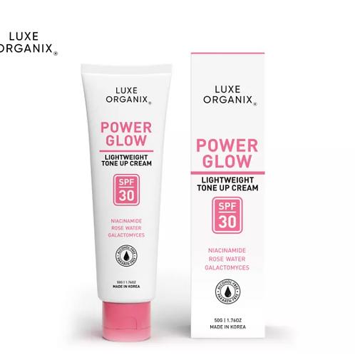 Luxe Organix Power Glow Tone Up Cream SPF30 50g