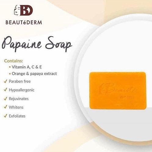 Beautederm Papaine Soap 150g