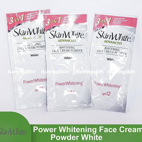 SkinWhite Advanced Power Whitening Face Cream Powder WHITE  7g (3 Sachet)