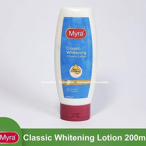 Myra Classic Whitening Vitamin Lotion 200ml