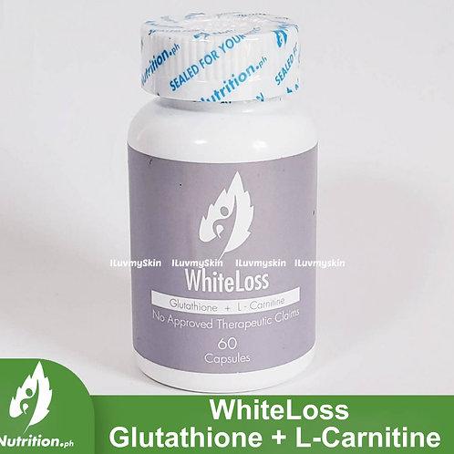 Nutrition WhiteLoss Glutathione  + L-Carnitine Capsules (60 Caps)