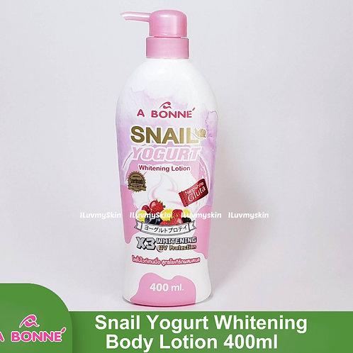 A BONNE Snail Yogurt Whitening Body Lotion 400ml