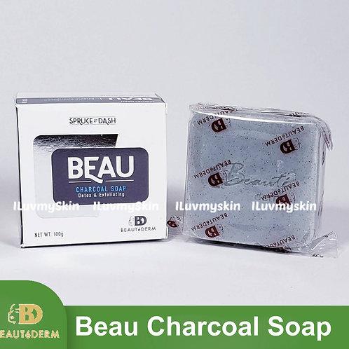 Beautederm Beau Charcoal Soap Detox and Exfoliating 100g