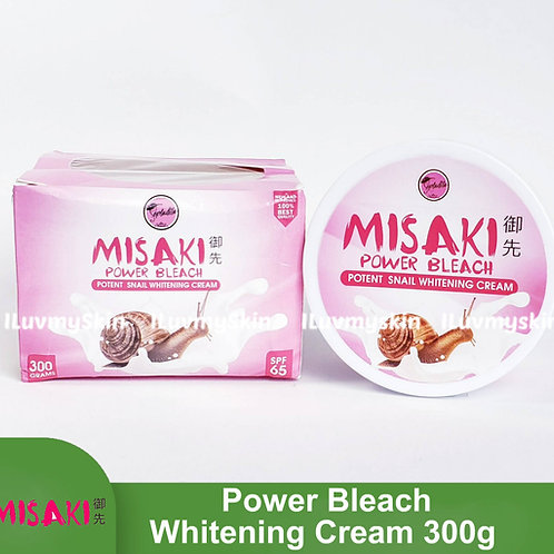 Misaki Power Bleach Potent Snail Whitening Cream SPF65 (300g)