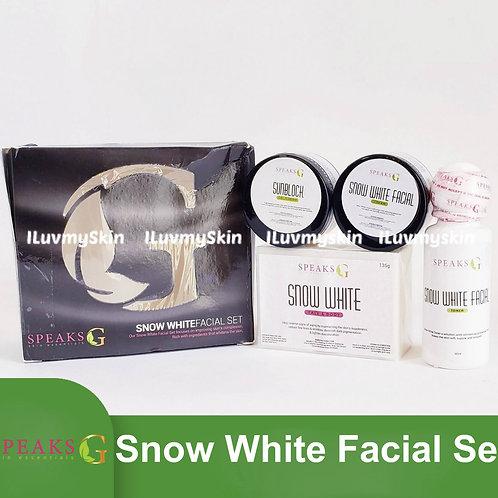 Speaks G Snow White Facial Set