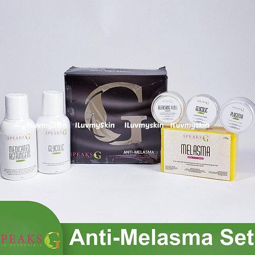 Speaks G Anti-Melasma Set