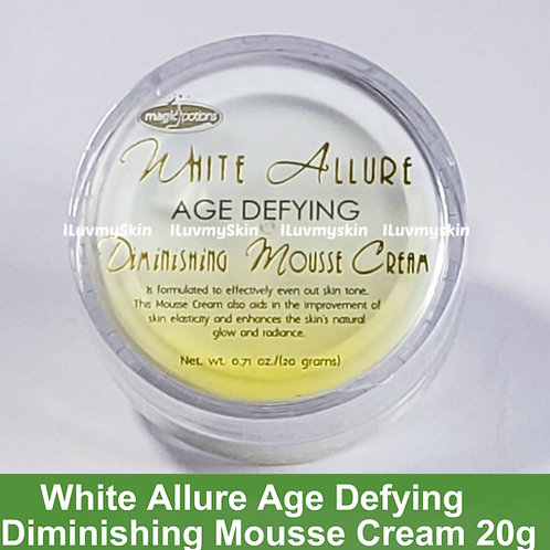 White Allure Age Defying Diminishing Mousse Cream 20g