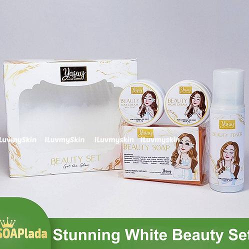 Yasuy Stunning White Beauty Set