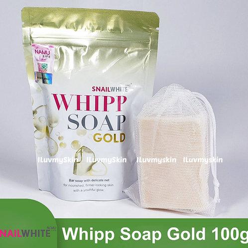Snail White Whipp Soap Gold Age Renewal Line 100g