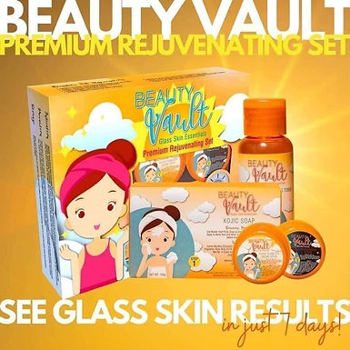 Beauty Vault Glass Skin Essentials