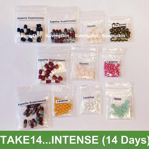 Bkk TAKE14 (Intense)  Slimming Diet Pills from Thailand  (14 days)