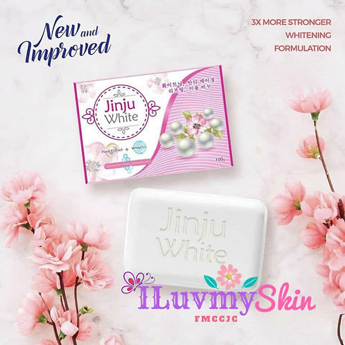 JINJU White Soap (1 bar)