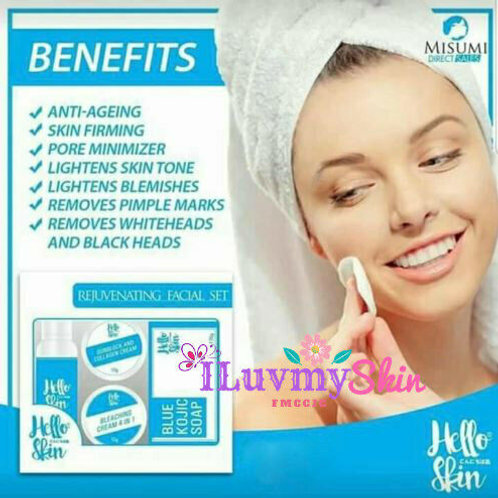Misumi Blue Rejuvenating Facial Set