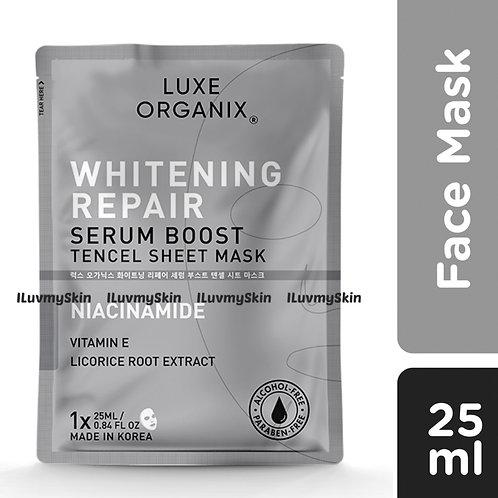 Luxe Organix Whitening Repair Serum Boost Sheet Mask 25ml (1 piece)