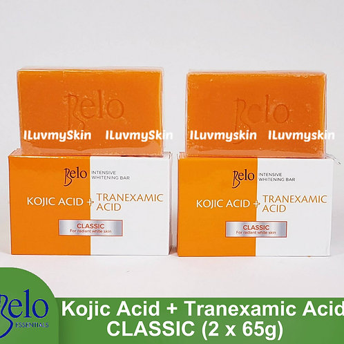 Belo Intensive Kojic & Tranexamic Acid Classic Soap (2 bars x 65g)