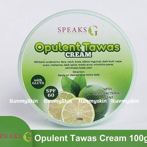Speaks G Opulent Tawas Cream 100g