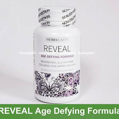 REVEAL Age Defying Formula, Whitening, Anti Wrinkle, Collagen,Glutatione 60 caps