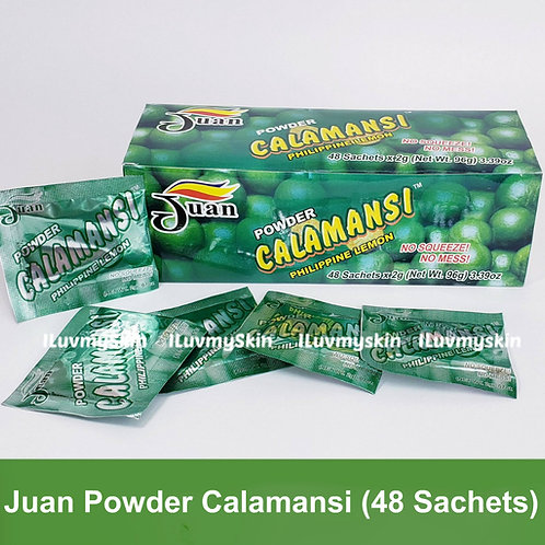 Juan Calamansi Juice Powder (100% Natural) 48 Sachets x 2g