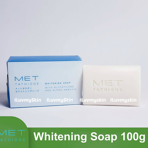 Met Tathione Whitening Soap with Glutathione and Alpha-Arbutin (100g)