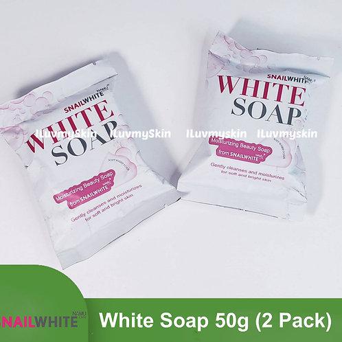 Snail White WHITE Soap 50g (2 Pack)