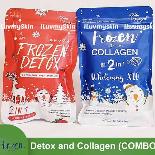 Frozen Collagen and Frozen Detox