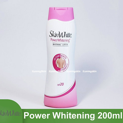 Skin White Advanced Power Whitening Lotion with SPF 20 (200ml)